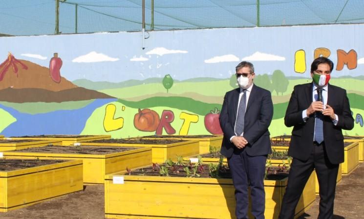 Catania, Bicocca, un orto biologico curato dai ragazzi del carcere