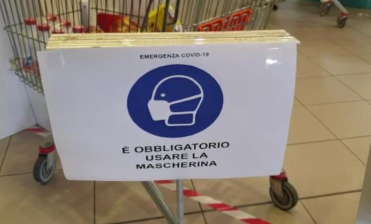 """Focolai supermercati a Partinico, """"La spesa come scusa per uscire in famiglia"""""""
