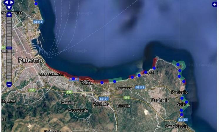 Palermo, lavori bloccati e vane promesse, il mare resta off limits