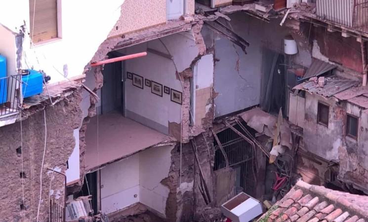 Catania, in sicurezza gli edifici di via Castromarino