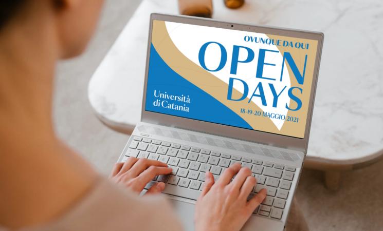 Al via oggi gli open Days digitali dell'Università di Catania