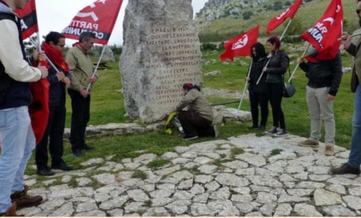 Primo maggio in Sicilia, Cgil Palermo a Portella della Ginestra