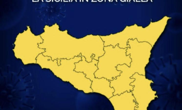 Covid, calano le vittime, la Sicilia da oggi in giallo