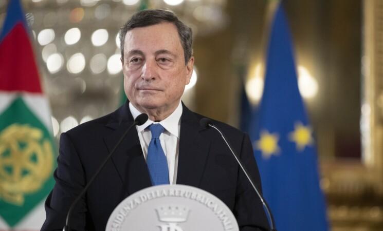 """Draghi """"Il Governo va avanti e non segue il calendario elettorale"""""""