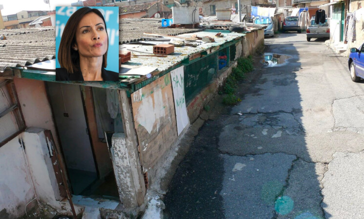 Mara Carfagna a Messina, risolto il problema baraccopoli