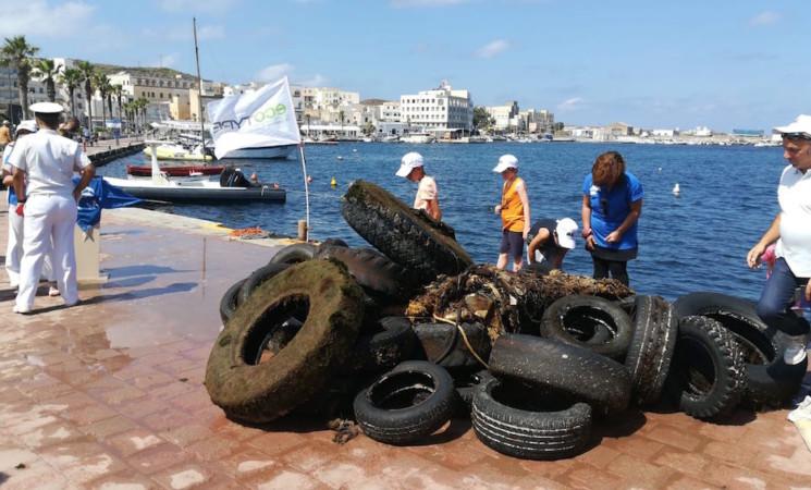 Pantelleria, al via progetto raccolta pneumatici fuori uso