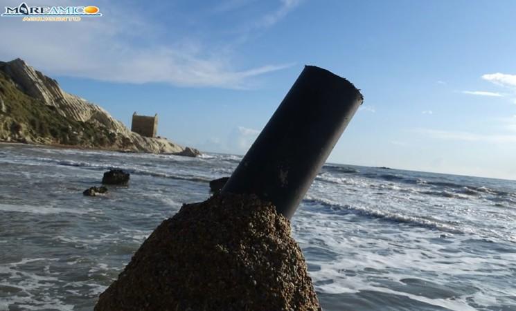 Agrigento, Punta Bianca, operazioni ambientaliste da associazioni