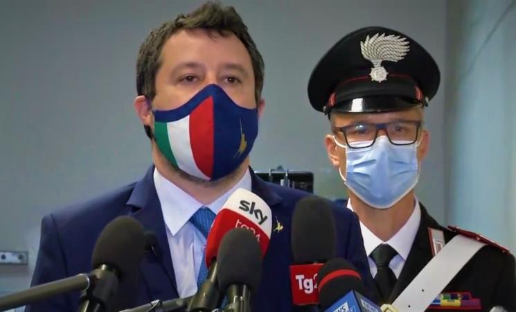 Caso Gregoretti, sentenza di non luogo a procedere per Salvini