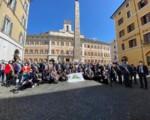 Protesta sindaci siciliani a Roma, no a stop acqua pubblica