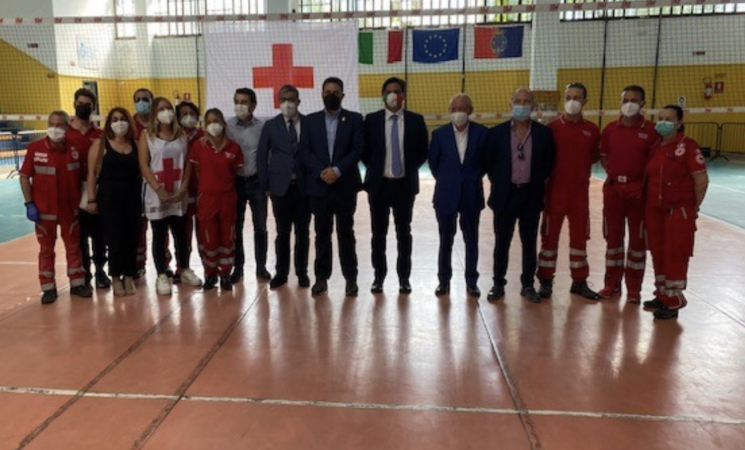 Catania, al Palaspedini nuovo hub vaccinale per i bisognosi