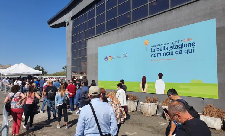 Covid, in Sicilia il 21,8% di popolazione vaccinata