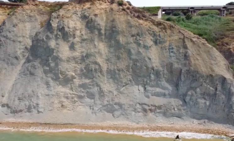Agrigento, la collina di Pirandello rischia di crollare – Video