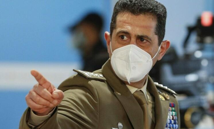 """Covid, generale Figliuolo ai No Vax: """"Vaccini, siamo un Paese libero"""""""