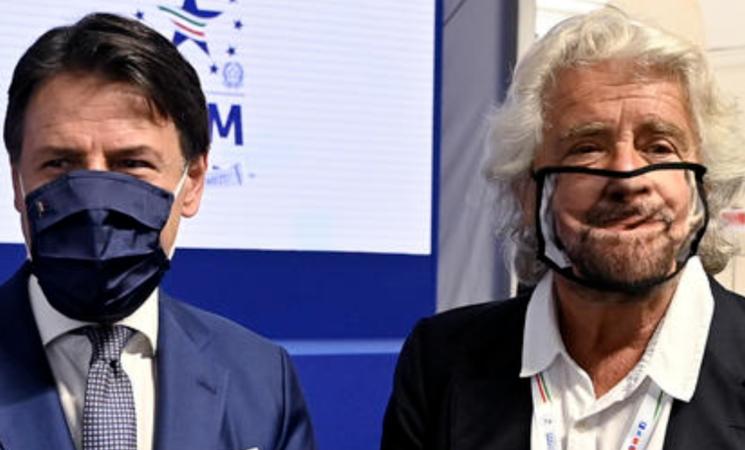 M5S, c'è accordo tra Grillo e Conte sul nuovo statuto