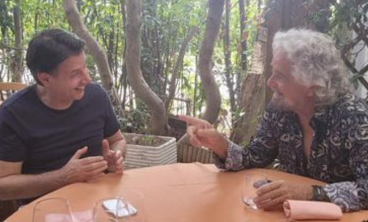 """M5S, pranzo Grillo-Conte, """"Ora pensiamo al 2050"""""""