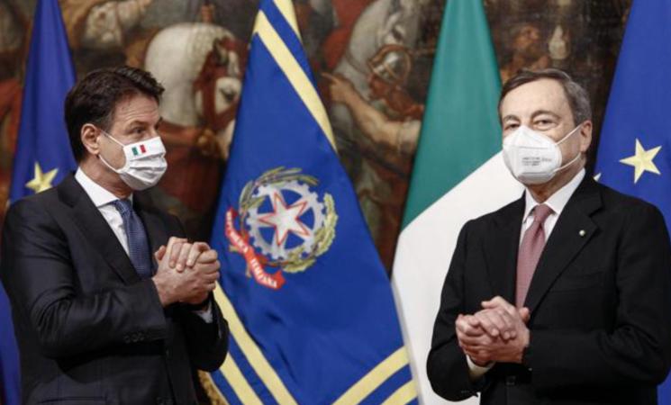"""Conte incontra Draghi: """"M5S darà contributo sulla giustizia"""""""