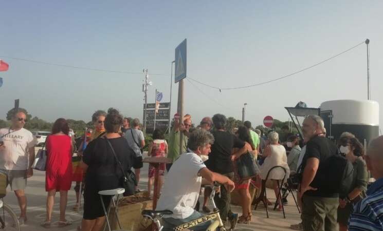 Marsala, pista ciclabile, continuano le proteste allo Stagnone