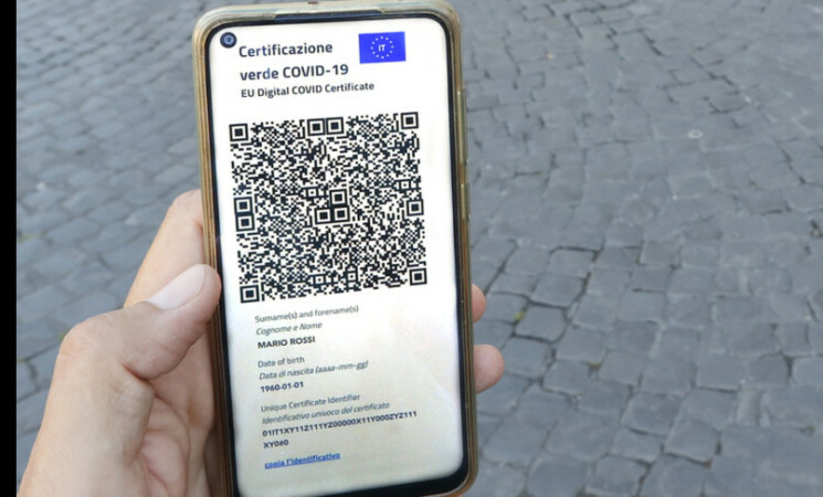 Scatta domani l'obbligo di Green pass: 48 milioni di certificati scaricati