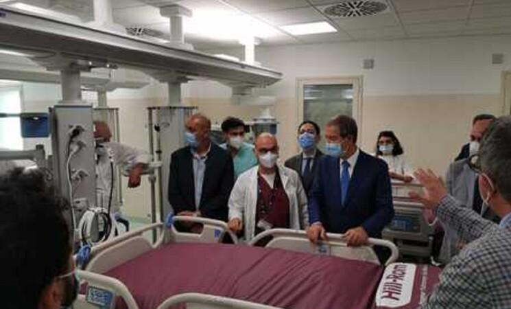 Sanità: nuovo reparto di Terapia intensiva a Palermo