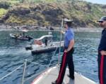 Stromboli, Carabinieri recuperano materiale bellico trovato in fondali