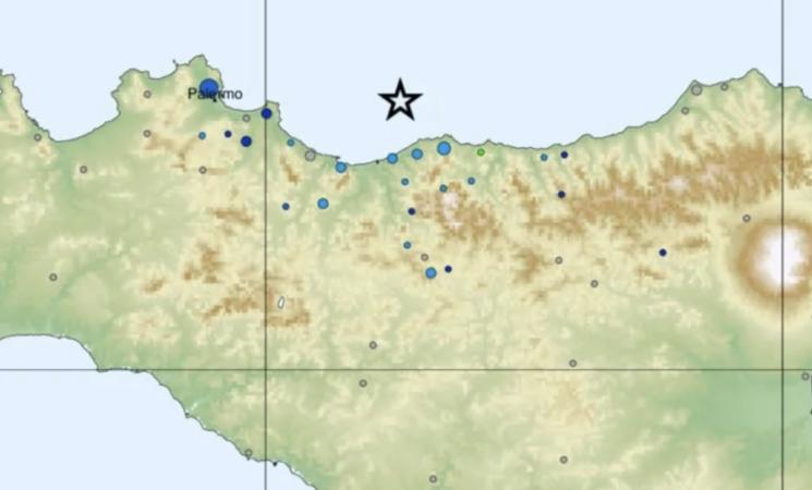 Forte scossa di terremoto avvertita nel Palermitano