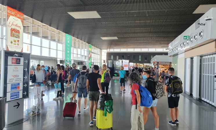 Aeroporto Catania, a luglio +108,68% passeggeri