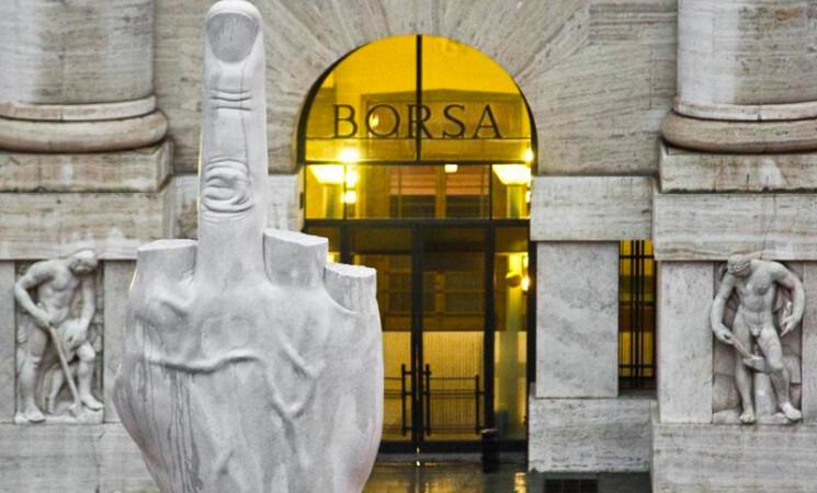 Borsa, Piazza Affari chiude in calo FTSE MIB -1,62%