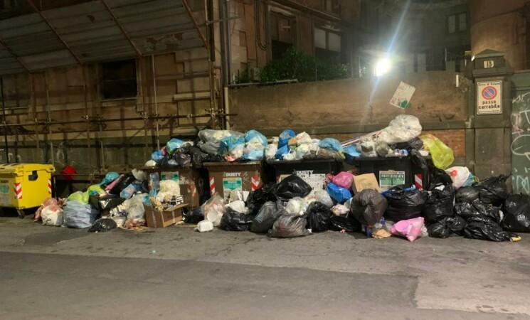 Rifiuti e alberi caduti, il degrado che travolge anche Catania