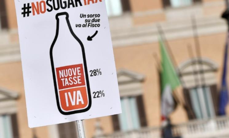 Sugar tax costerà 180 milioni di fatturato nel 2022