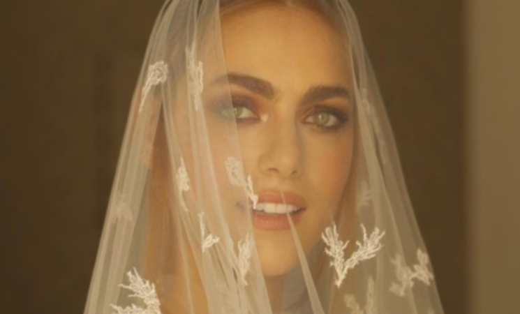 Miriam Leone si è sposata a Scicli, la prima foto del matrimonio