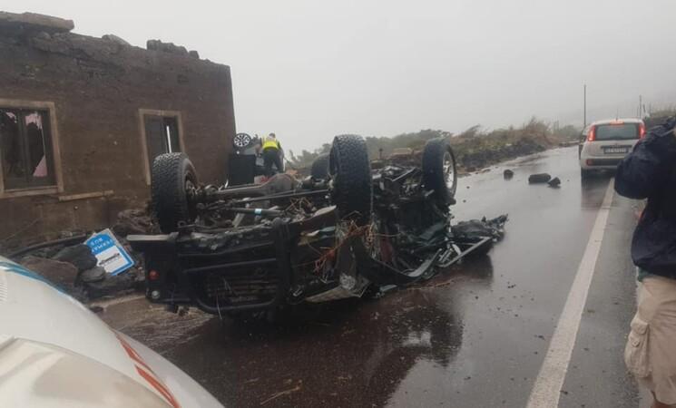 Tromba d'aria a Pantelleria, due morti e feriti gravi