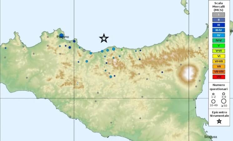 Trema ancora la terra nel Palermitano, altre due scosse di terremoto