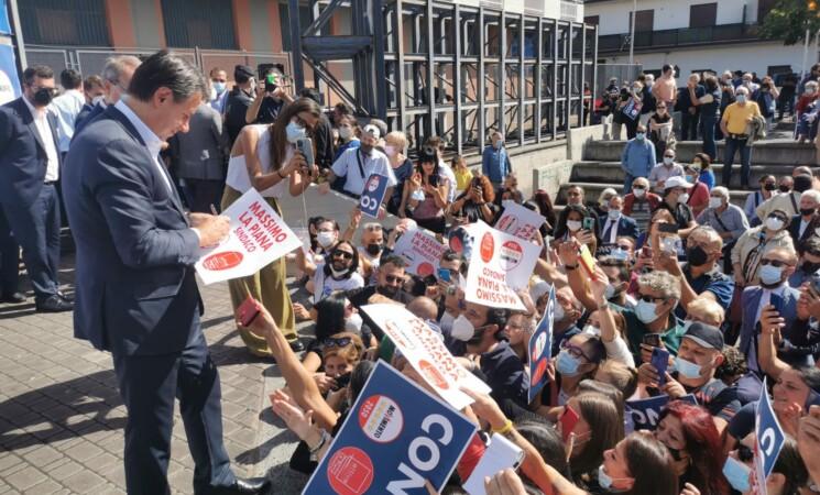 Giuseppe Conte in Sicilia, M5s pensa al Paese, Lega ondivaga non aiuta