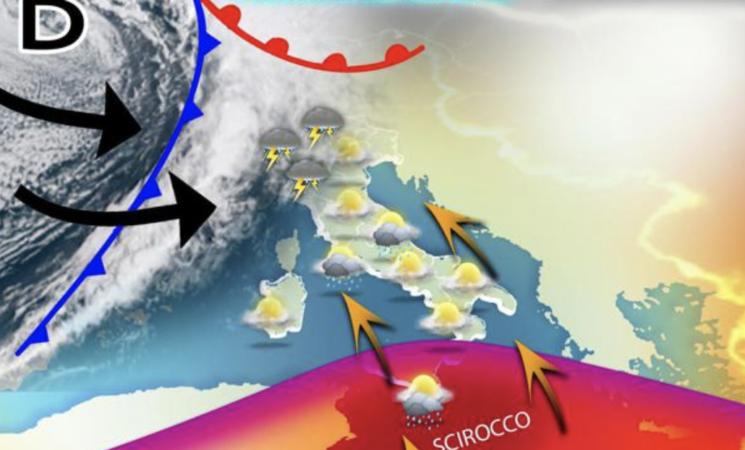 Meteo in Sicilia, weekend di pioggia, le previsioni
